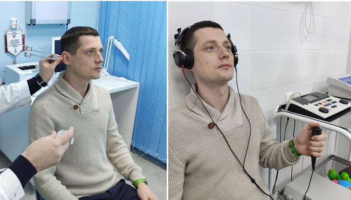Исследование слуха при помощи камертонов и аудиометра