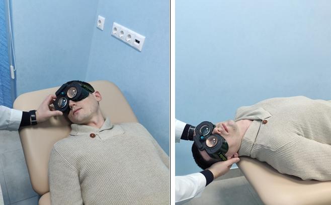 Позиционные тесты для диагностики головокружения