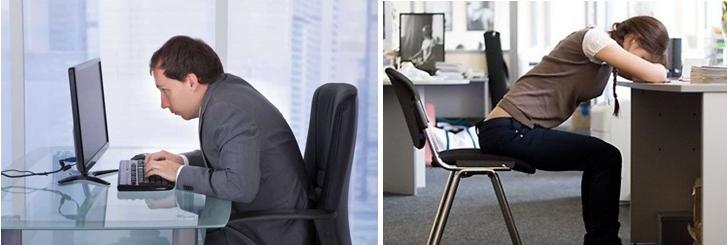 Долгая работа за компьютером может стать причиной многих заболеваний