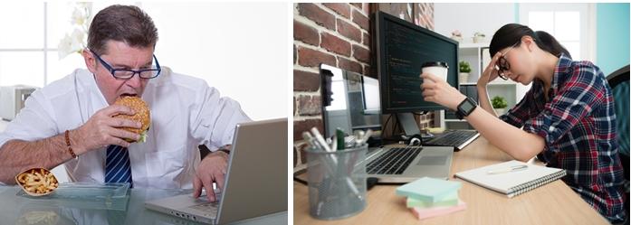 Вредные факторы рабочей среды могут привести к офисному синдрому