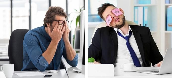 """Синдром """"сухого"""" глаза - последствие долгой работы за компьютером"""